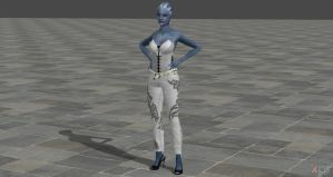 Liara in XPS Preview 1 by Grummel83