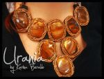 Shell and Loose beads necklace by kaberaldo