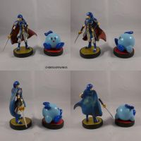 Kirby Blue Marth Martha by ChibiSilverWings