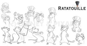 Ratatouille by mree
