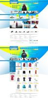 Online Shopping Website Design by AbdelhakBoukili