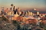Seattle at Sunset by arnaudperret