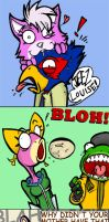 Starfox vs WOMEN by ZoDy
