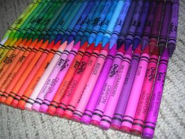 Just crayons by Tiffyx