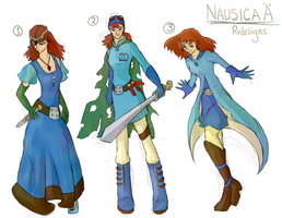 Nausicaa Redesigns by Sophalone