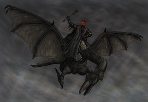 Witchking of Angmar by Faradon