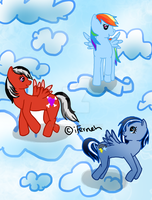 Pegasus Friends by iFerneh