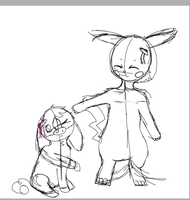 Aiko and Aiko (WIP) by MixedMelodies