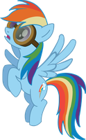 Rainbows Dash (Goggles) by HerrMyrddin