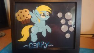 Derpy Hooves ShadowBox by Tazimo