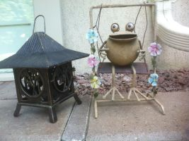 Happy frog by Topas2012