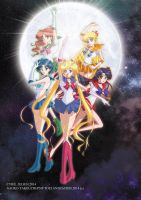 Pretty Guardian Sailor Moon Crystal by Crisis-Cissou
