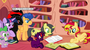Twilight's Book Club by CyrilSmith