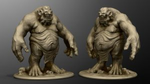 Ogre to print by Omar-Kamel