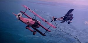 air combat WW1 by Harnois75
