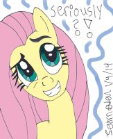 Fluttershy Questions your sanity by lcponymerch