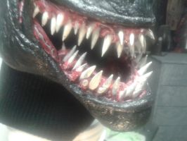 venom mask teeth fix by mongrelman