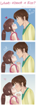 what about a kiss? by Maemy