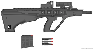 PGL20 (Portable Grenade Launcher 20mm) by cypherwolf