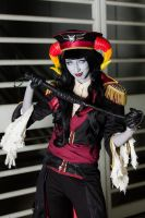 Militarystuck Aradia: Snap, Crack, and Stop by Citrusbell