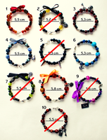 Hand-made bracelets 2 - for sale! by MadBlackie