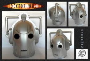 Cyberman Money Box by mikedaws