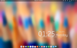 Screenshot from Elementary OS Luna COLORS by ivanymathias