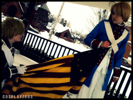 Hetalia Cosplay: Hold On by CosplayzRus