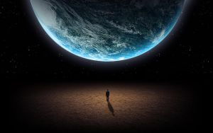 Man and Earth by Tinss