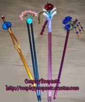 Lulus Hair sticks Revisit by CosplayPropsEtc