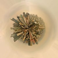Planet buildings(colored) by eeschabeche