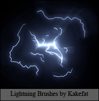 Lightning Brushes by Kakefat by kakefat