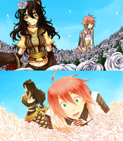 PoP event: White Roses by Pokey-Chan
