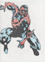 Spiderman 2099 by GamerVice