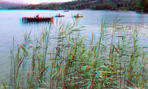 Lac d'Aiguebelette 3D by JoelRemy222
