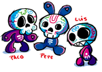 Calaveritas by FlintofMother3