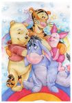 Winnie and friends by lilie-morhiril