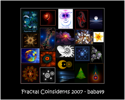 Fractal Coinsidents by baba49