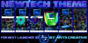 Next Launcher 3D Theme NewTech by ArtsCreativeGroup