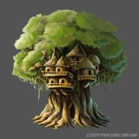 TreeHouse by flukekung