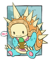 Cutey Rammus by RinTheYordle
