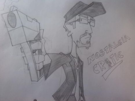 The Nostalgia Critic by TheToonGamer