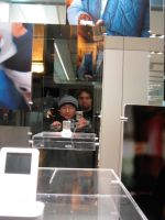 Reflections at the Apple Store by hexdcml