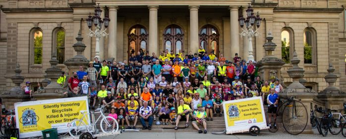 Ride of Silence Lansing 2014 by quetwo