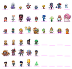 Fan sprites megasheet by Neoriceisgood