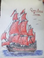 Queen Anne's Revenge by PirateoftheCaribbean