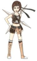 Yuffie by Cloudyh