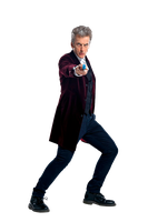 12th Doctor With New Sonic Screwdriver Render #3 by PietroRock