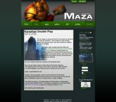 Maza Website by SoSpian