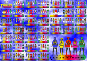 40 SQUADRONS - THUNDERYO SUPER SENTAI by thunderyo